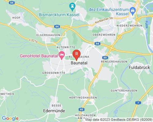 Google Karte von Rohrreinigung Baunatal