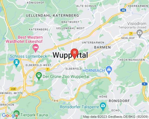 Google Karte von Rohrreinigung Wuppertal