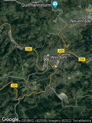 Google Map of Werdohl