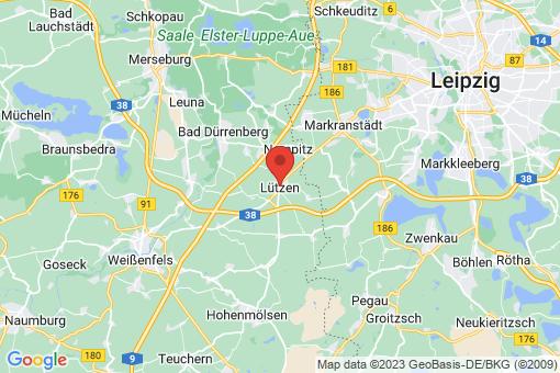 Karte Lützen