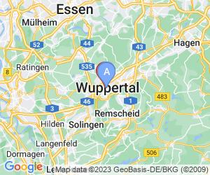 Karte für NinetyNine Hotel Wuppertal
