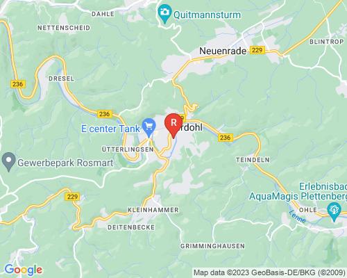Google Karte von Rohrreinigung Werdohl