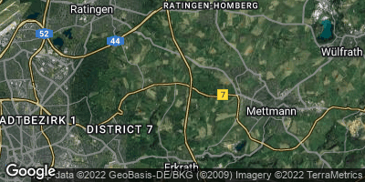 Google Map of Hubbelrath