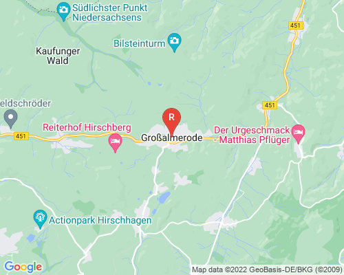 Google Karte von Rohrreinigung Großalmerode