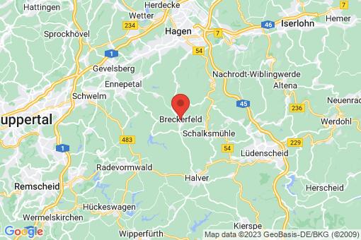 Karte Breckerfeld
