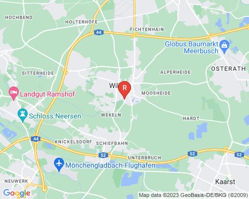 Google Karte von Rohrreinigung Willich