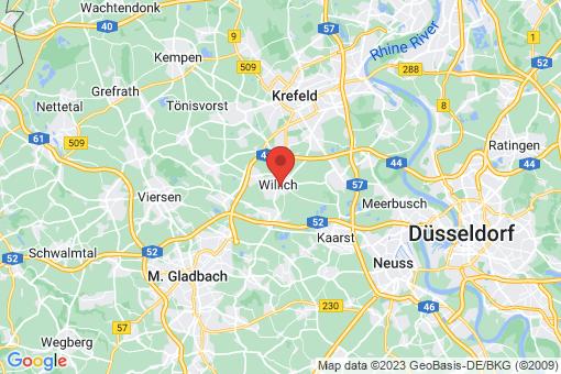 Karte Willich