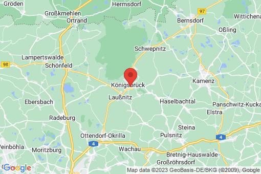 Karte Königsbrück