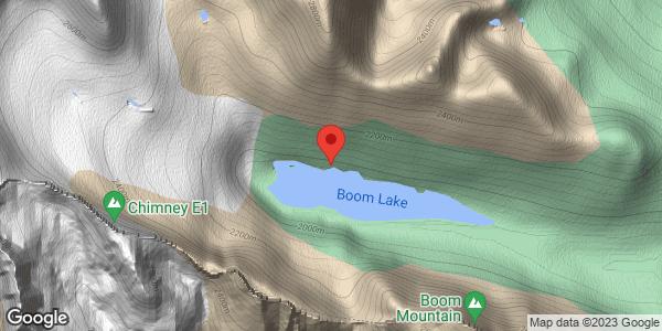 Boom Lake Avalanche Incident