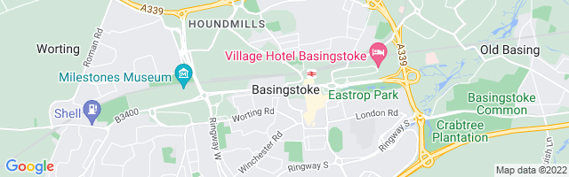 Map Of Basingstoke