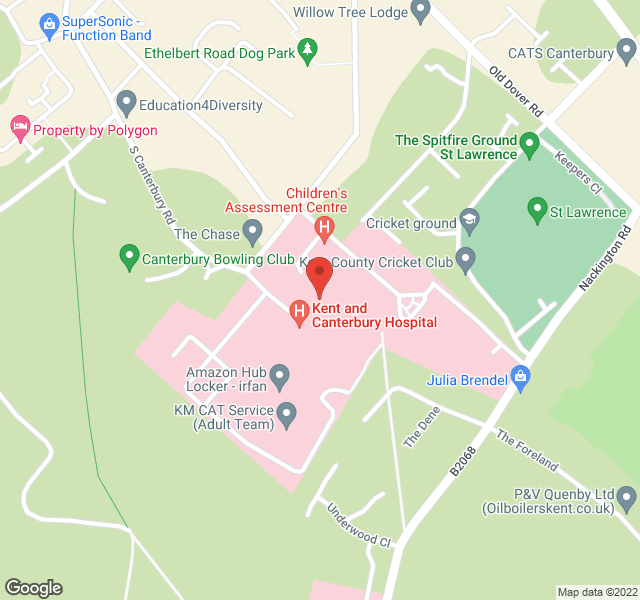 Map of library location