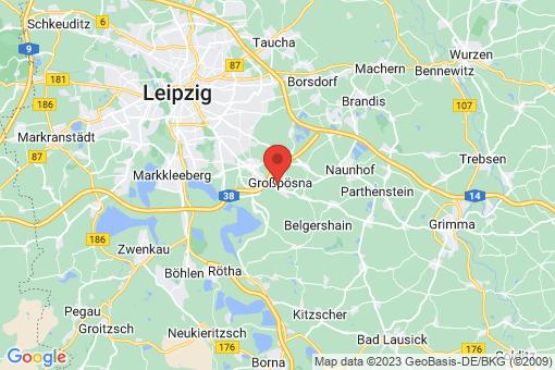 Karte Großpösna
