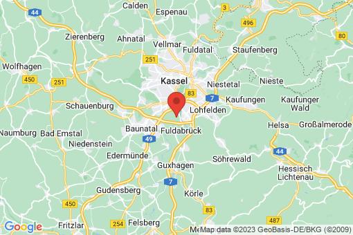 Karte Fuldabrück