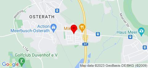 Google Map für Gästehaus Hegger