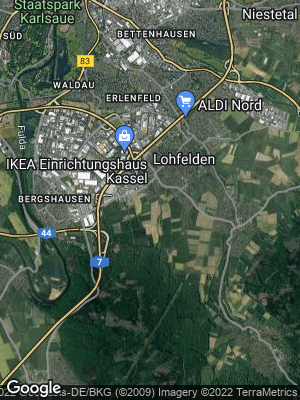 Google Map of Lohfelden