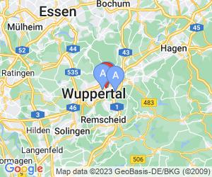 Karte für City Hotel Wuppertal