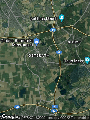Google Map of Osterath