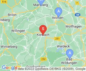 Karte für Städtisches Museum Korbach