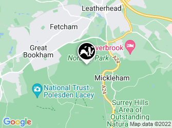 A static map of Norbury Park