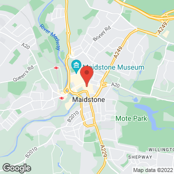 Map of wilko Maidstone at Unit 100, Maidstone,  ME15 6AT