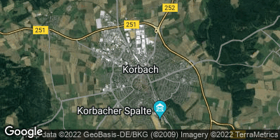 Google Map of Korbach