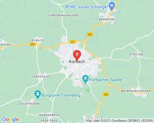 Google Karte von Rohrreinigung Korbach