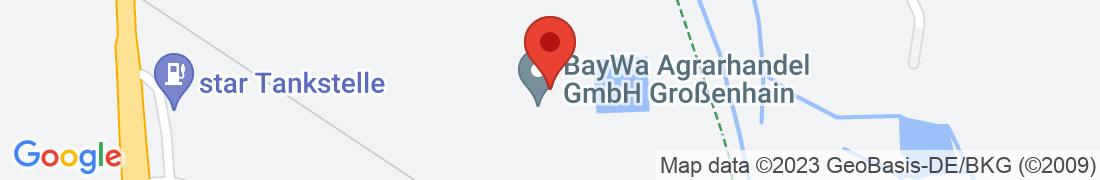 BayWa AG Großenhain Anfahrt
