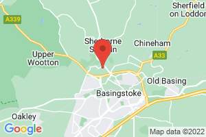 Basingstoke and North Hampshire Hospital Healthcare Library on the map