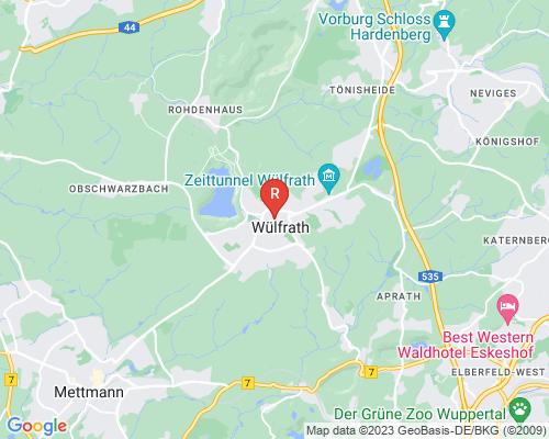 Google Karte von Rohrreinigung Wülfrath