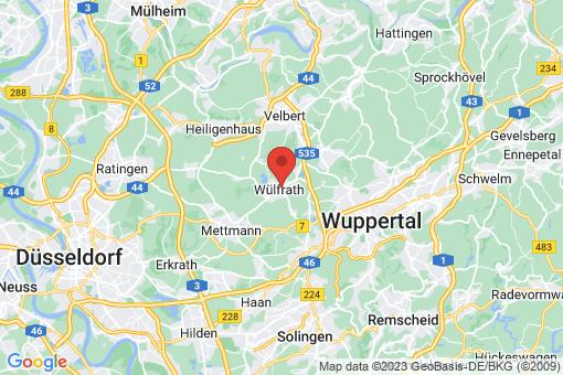 Karte Wülfrath