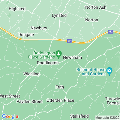 Doddington Place Location