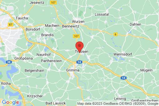 Karte Trebsen/Mulde