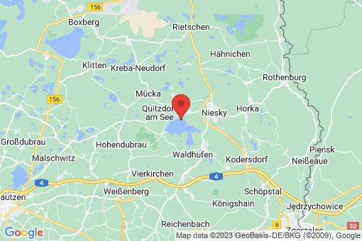 Karte Quitzdorf am See