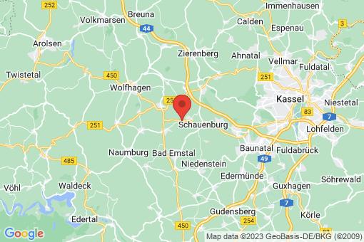 Karte Schauenburg
