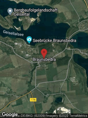 Google Map of Braunsbedra