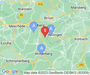 Karte für Erlebnisberg Sternrodt