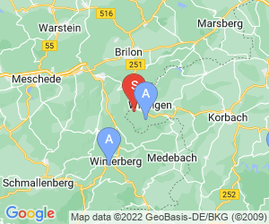 Karte für Outdoor Germany