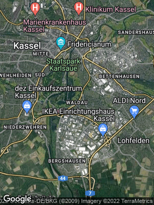 Google Map of Waldau