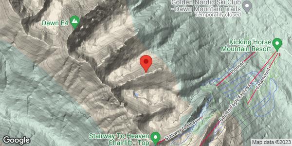 Rudis north avalanche