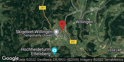 Google Map of Willingen