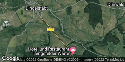 Google Map of Helmsdorf bei Leinefelde