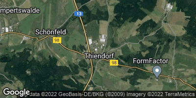 Google Map of Thiendorf