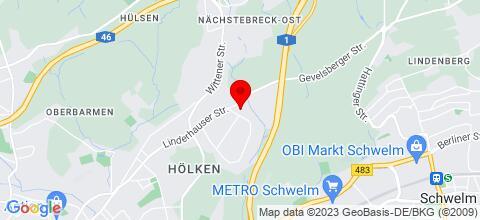 Google Map für Der MoeHof in Wuppertal