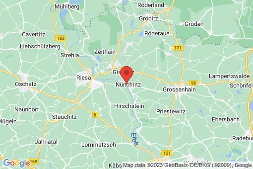 Karte Nünchritz