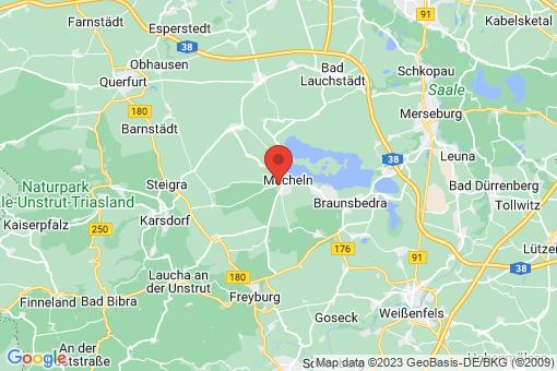 Karte Mücheln (Geiseltal)