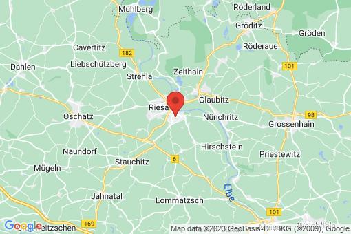 Karte Riesa