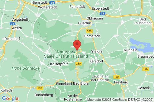 Karte Vitzenburg