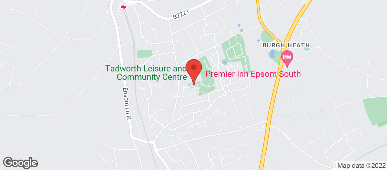 Tadworth Leisure and Community Centre location and directions
