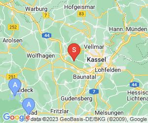 Karte für Kletterwald Kassel