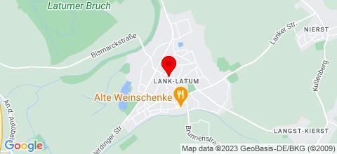 Google Map für Ferienwohnungen Kurepkat Meerbusch
